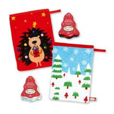 Zauberhafter Waschhandschuh - Weihnachtsschätze
