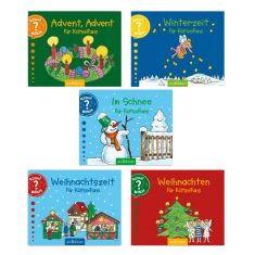 Rätsel Minis - Winter- & Weihnachtszeit für Rätselfans