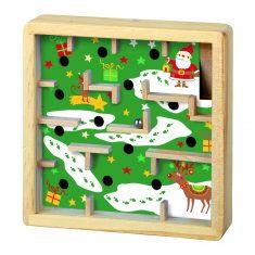 Holzgeduldspiel - Wann ist Weihnachten?