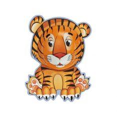 Tiger aus Vollmilchschokolade
