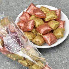 Glamour Bonbons im Spitzbeutel, Lakritz & Karamel mit Meersalz