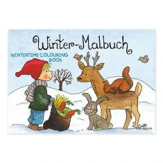 Malbuch - Winter, mini