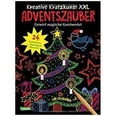 Kreative Kratzkunst XXL - Adventszauber