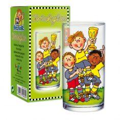 Trinkglas - Fußballer Fritz Flanke