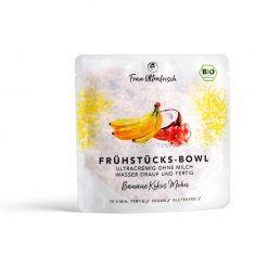 Bio Frühstücks-Bowl - Banane Kokos Mohn