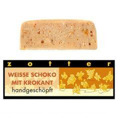 Schoko-Mini - Weiße Schokolade mit Krokant