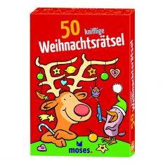 Kartenset - 50 knifflige Weihnachtsrätsel