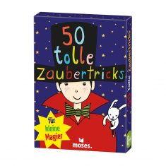 Kartenset - 50 tolle Zaubertricks für kleine Magier