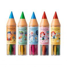 Maxi-Stift mit Stiften aus Vollmilchschokolade