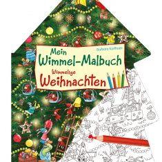 Mein Wimmel-Malbuch: Wimmelige Weihnachten