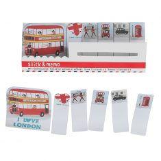 Mini-Memo Sticker - I Love London