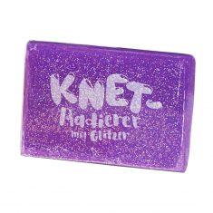 Knet-Radierer Glitzer - lila