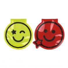LED Magnet Clips Smile!, 2er-Set