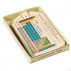 Gepäckanhänger - Periodensystem