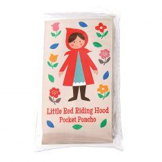 Kinder-Regenponcho - Rotkäppchen