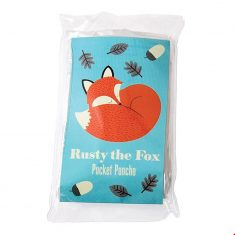 Kinder-Regenponcho - Rusty the Fox