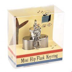 Schlüsselanhänger mit Mini-Flachmann - The Modern Man