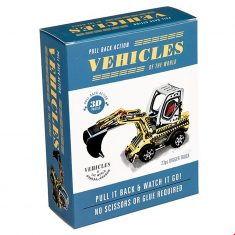 Pull Back Bausatz - Digger Truck