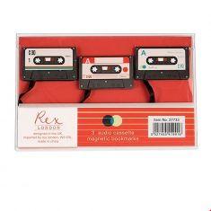 Magnetische Lesezeichen - Kassette, 3er Set