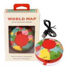 Bluetooth-Lautsprecher für die Dusche  - World Map