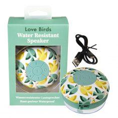 Bluetooth-Lautsprecher für die Dusche  - Love Birds