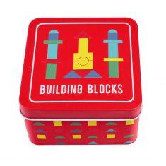 Holzspiel in der Dose - Building Blocks