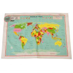 Geschirrtuch - World Map
