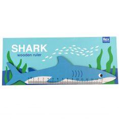 Holzlineal - Shark