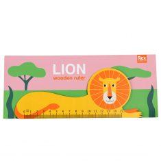 Holzlineal - Lion