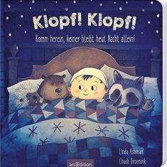 Pappbuch - Klopf! Klopf! Komm herein, keiner bleibt heut Nacht allein!