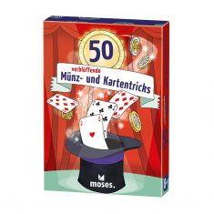 Kartenset - 50 verblüffende Münz- und Kartentricks