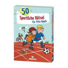 Kartenset - 50 sportliche Rätsel für fitte Köpfchen