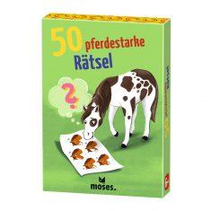 Kartenset - 50 pferdestarke Rätsel