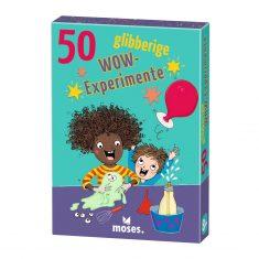 Kartenset - 50 glibberige WOW-Experimente
