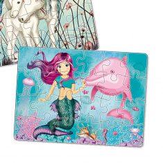 Minipuzzle - Meerjungfrau Coralie