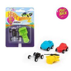 Radierer mit Rückzugmotor - Happy Wheels