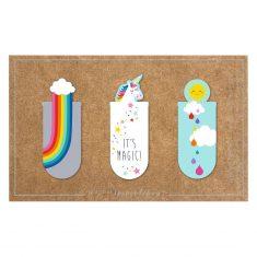 Magnetisches Lesezeichen - It's Magic, 3er-Set