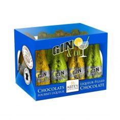 Kiste mit Ginfläschchen GIN & CO.