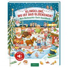 Weihnachts-Such-Soundbuch - Klingeling, wo ist das Glöckchen?