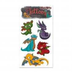 Tattoos - Süße Drachen