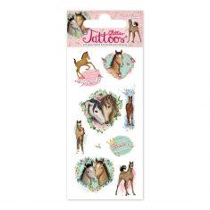 Glitter-Tattoos - Pferde 2