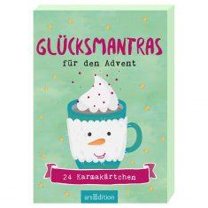 Adventskalender-Kartenbox - Glücksmantras für den Advent