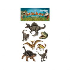 Glitter-Sticker - Dinosaurier
