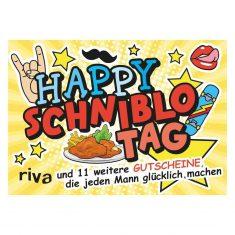 Gutscheinheft - Happy Schniblo Tag