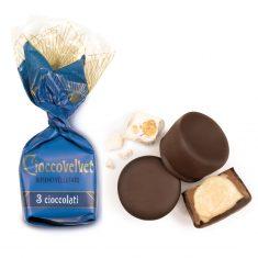Schokoladenpraline - Cioccovelvet 3 Cioccolati