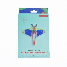 3D-Wanddekoration - Blue Comet Butterfly, studio ROOF