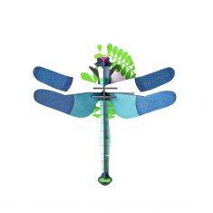 3D-Wanddekoration - Blue Dragonfly, studio ROOF