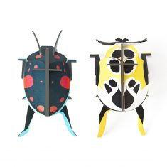 3D-Wanddekoration - Lady Beetles, studio ROOF