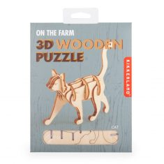3D-Holzpuzzle - Cat