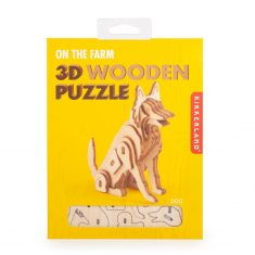 3D-Holzpuzzle - Dog
